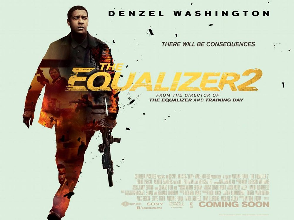 Movie Review : The Equalizer 2 (2018) — Dead End Follies