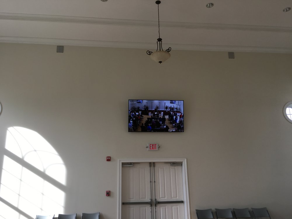 Fellowship-Hall video feed from Santuary.