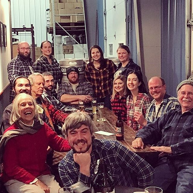 We had a blast catching up with friends at our November FBC Fall #Flannel Social! #vtbeer