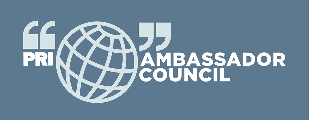 Identity for Public Radio International's Ambassador Council.