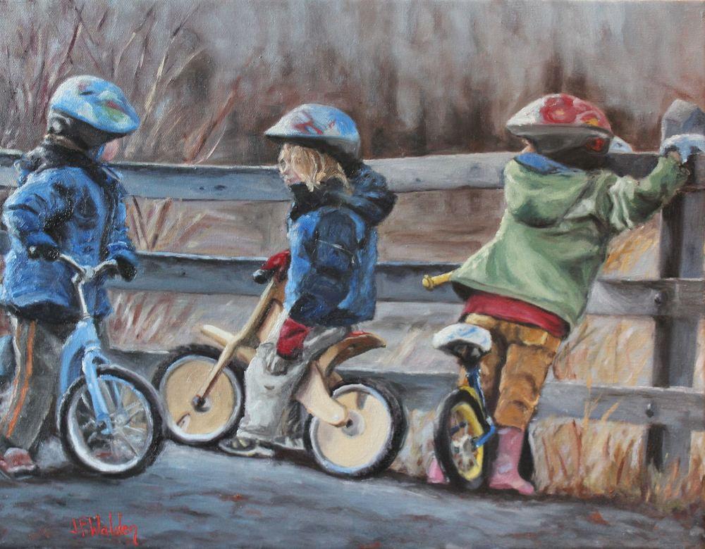 walden_49A biker gang_16-x20-_oils_2014.jpg