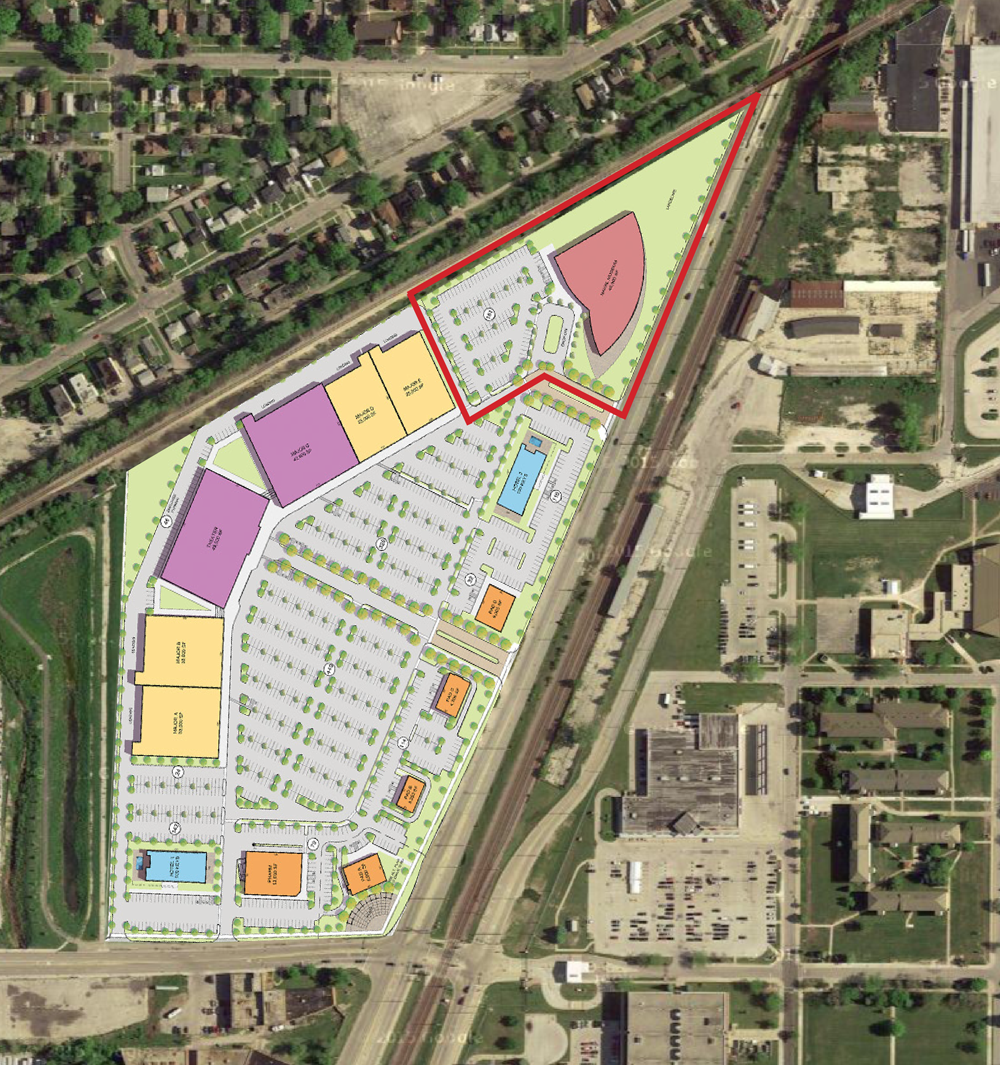 SHERIDAN CROSSING CULTURAL AND ENTERTAINMENT DISTRICT - CONFIGURATION PLAN