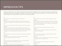 Impression Tips