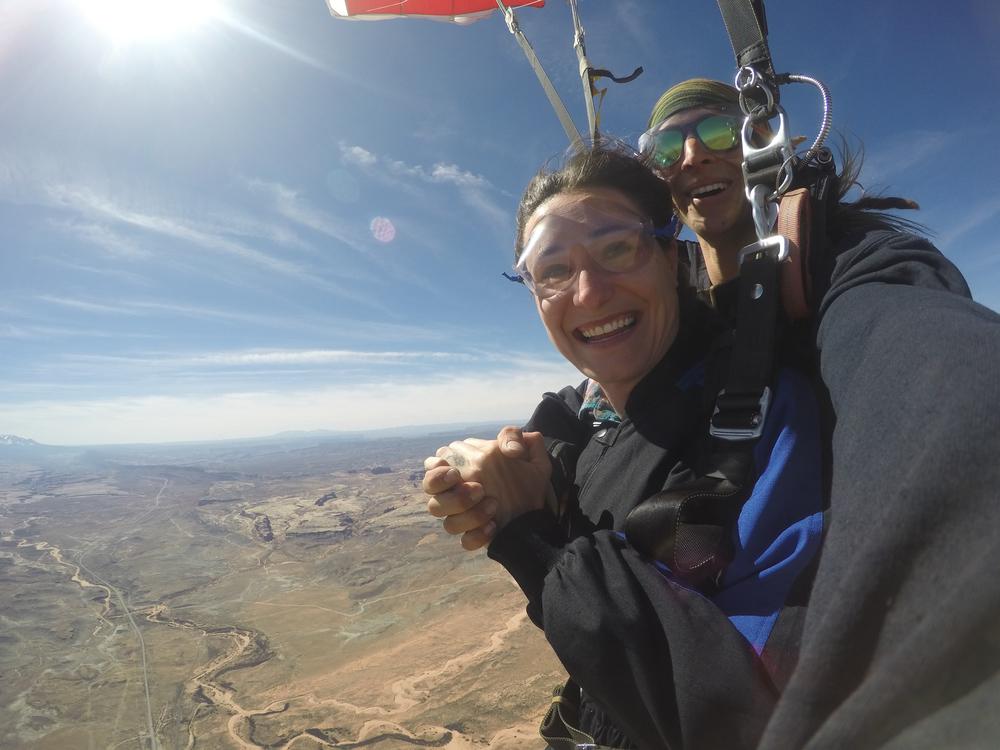 skydiving in utah