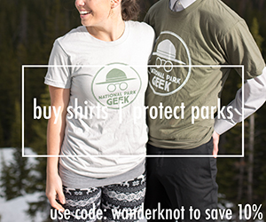 national park geek shirt