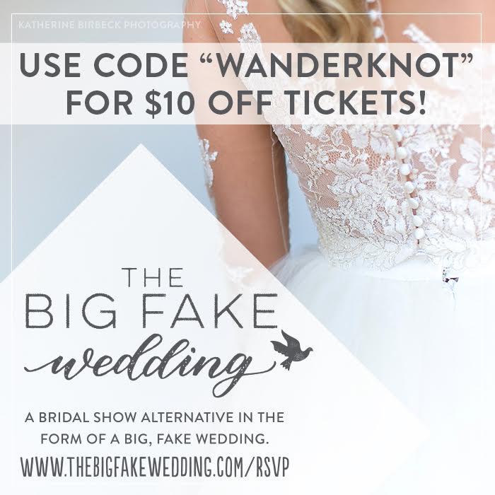 the big fake wedding $10 coupon