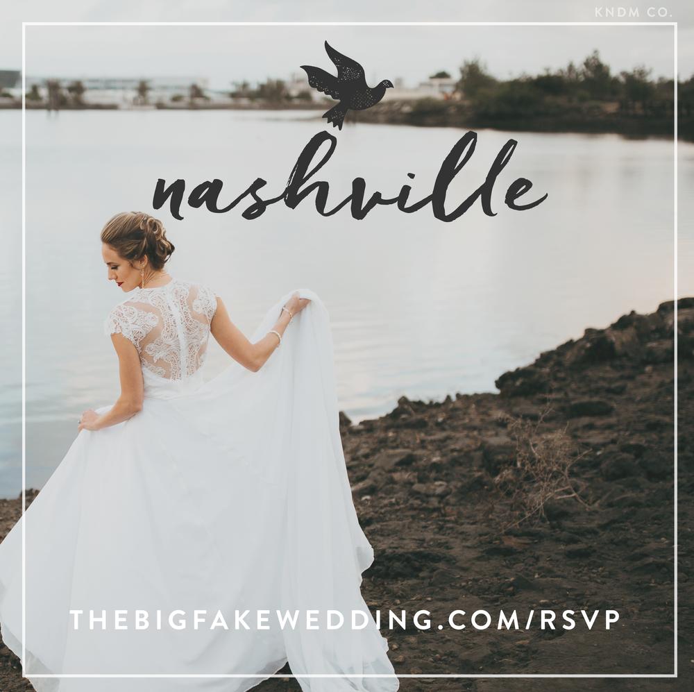 the big fake wedding nashville
