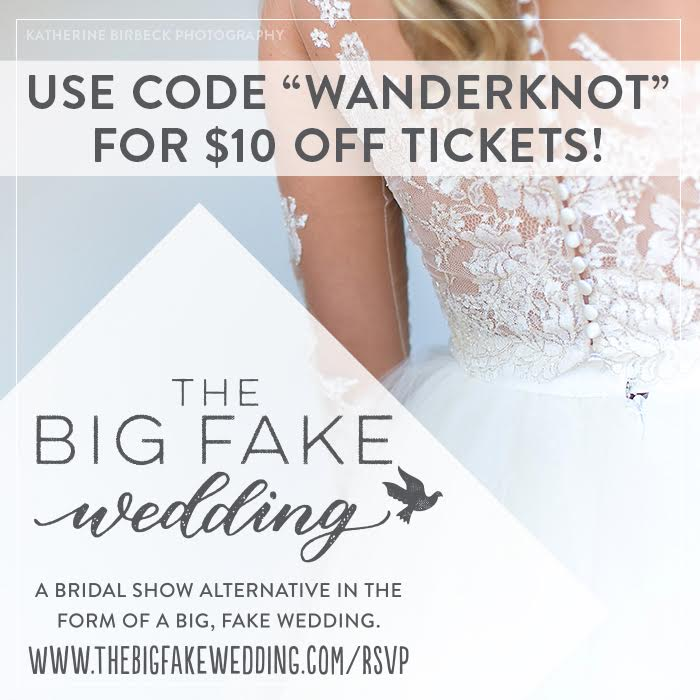 the big fake wedding coupon