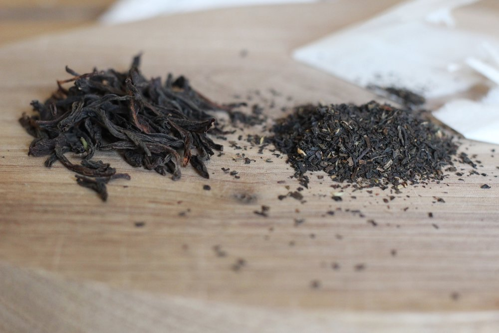 Loose leaf vs bagged tea the difference and the drawbacks