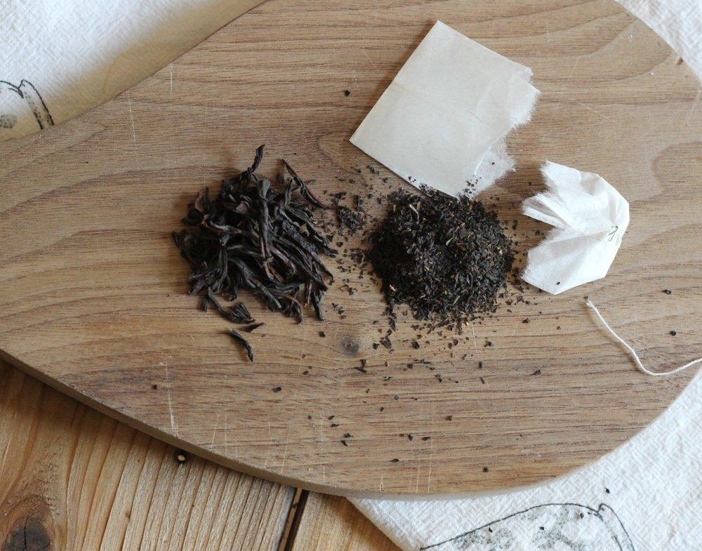 Loose Leaf tea vs tea bag open.JPG