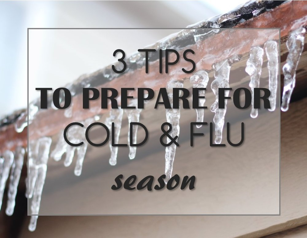tips to prepare for cold and flu season