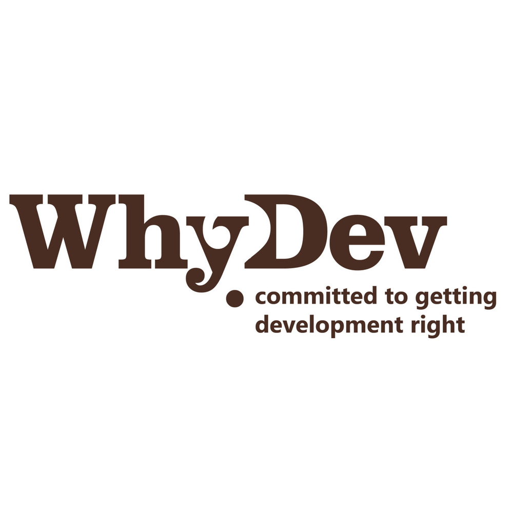 WhyDev   is a registered Australian non-profit committed to getting aid and development right.