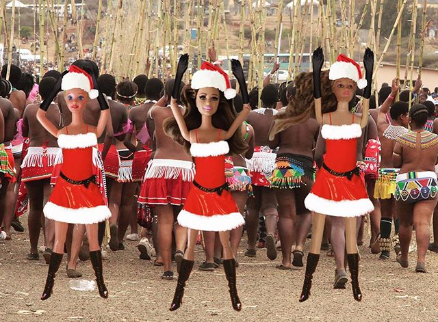 The girls and I had the chance to put on a Christmas talent show today for the village! And not only did we provide entertainment, we were able to instill pure morals with our conservative dress and dance. #reachoneteachone #BarbietheSaviorwhatsyourfavoritecolor? #minesblack #thebestwaytospreadChristmascheerissavingloudforalltohear #Barbiesitsonathroneoflies #andmayallyoursaviorsbewhite #oohhhletmesaveletmesaveletmesave #imdreamingofawhitesavior #ohwaitthatsme #Barbiedidyouknowthatyouwouldsavetheirsonsanddaughters? #yourelifewillbesavedkid #thetruepinknightmare #itsamajoraward! #SavEEoar #itmustbeItalian #MerryChristmasyafilthysavior #itsawonderfullifeisaved #bleedingheartsoftheworldunite #pitlatrinesfull #yippiekiyayorphanlover