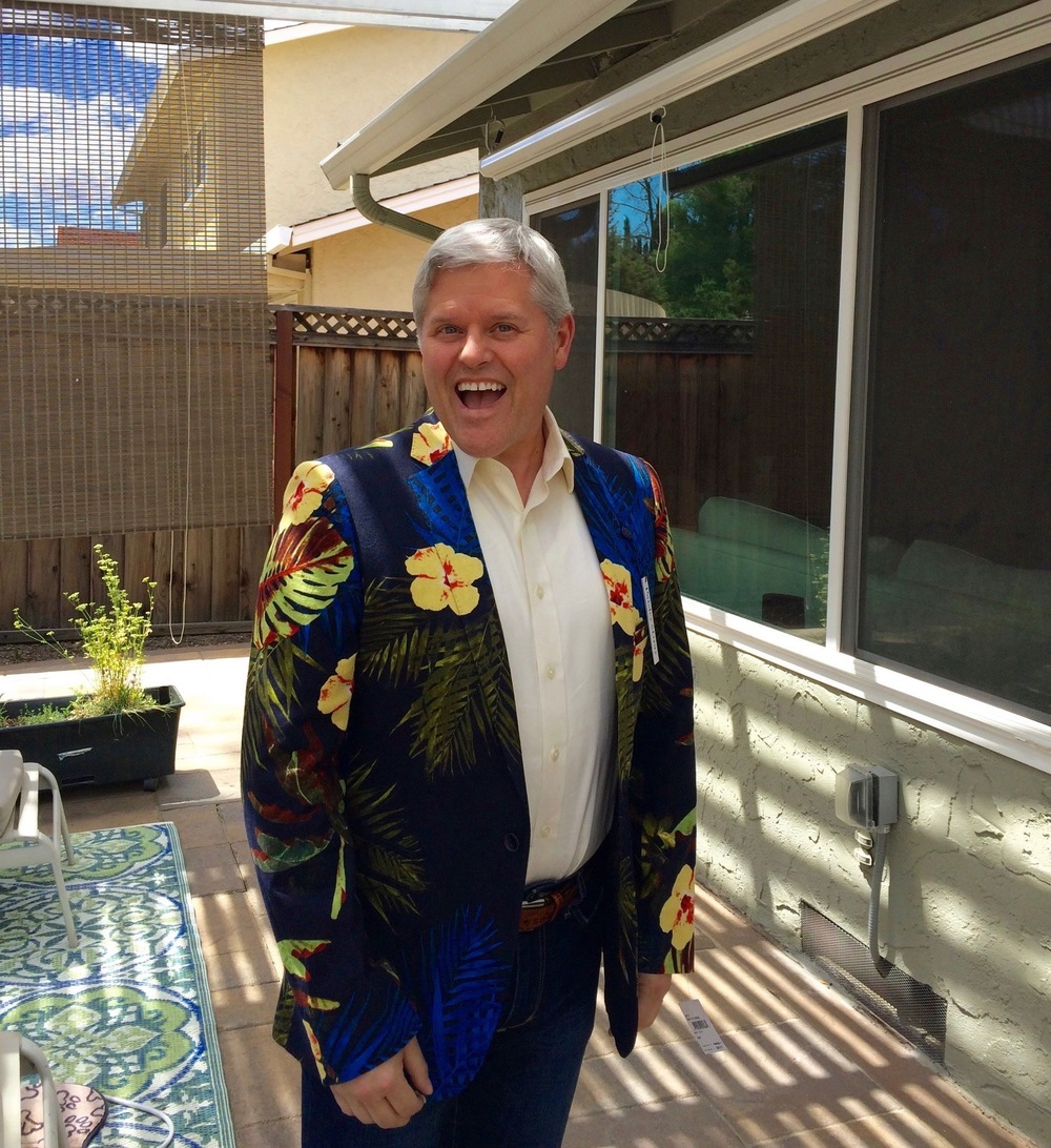 Day 21 - Happy Father's Day jacket!