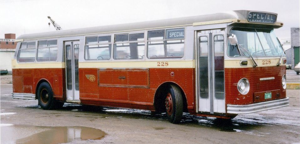 Regina Transit System Bus, 1969