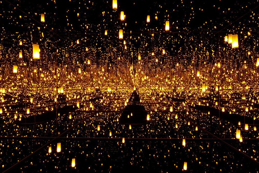 Yayoi Kusama's Infinity Mirrors at Seattle Art Museum - Photo credit:  Seattle Art Museum