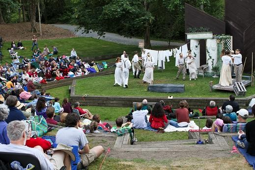 Check out some outdoor Shakespeare July 7th-23rd. Photo Credit: Heed the Hedonist
