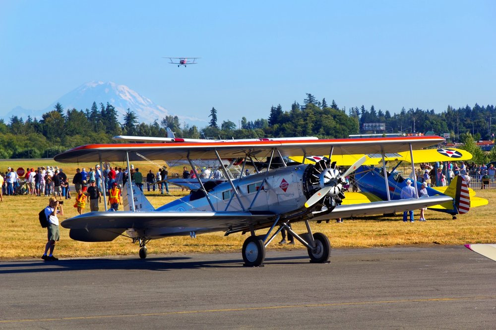 Head up north to Everett this week for Vinage Aircraft Weekend at Paine Field!