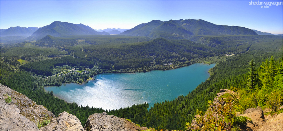 """""""Rattlesnake Ridge,"""" by Sheldon Yagyagan. Licensed under https://creativecommons.org/licenses/by-nc-nd/2.0/."""