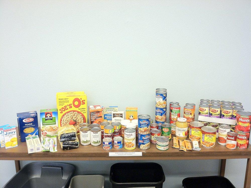 Declan food donation.JPG