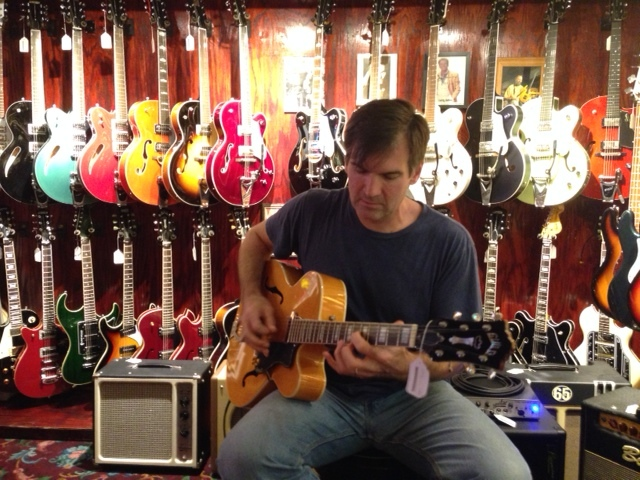 Like many guitarists, Matt struggles with Guitar Acquisition Syndrome