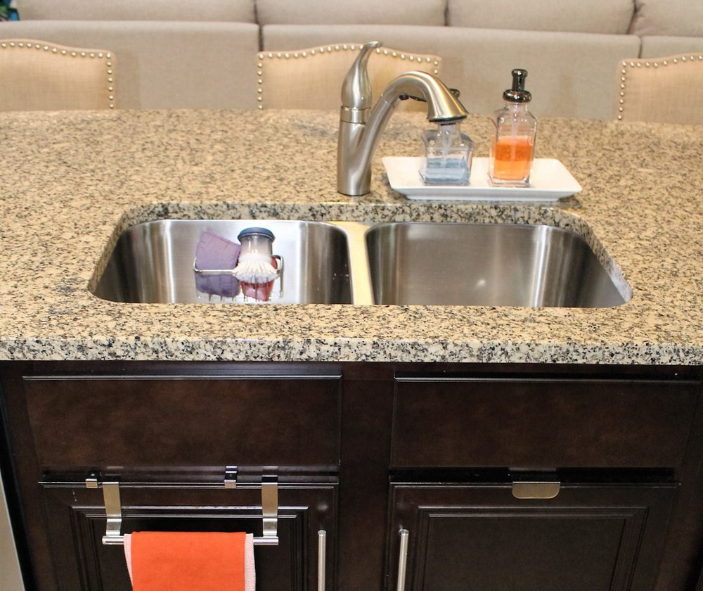 make your sink sparkle with orange oil