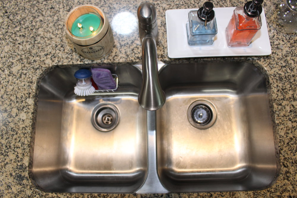 unclogging a garbage disposal