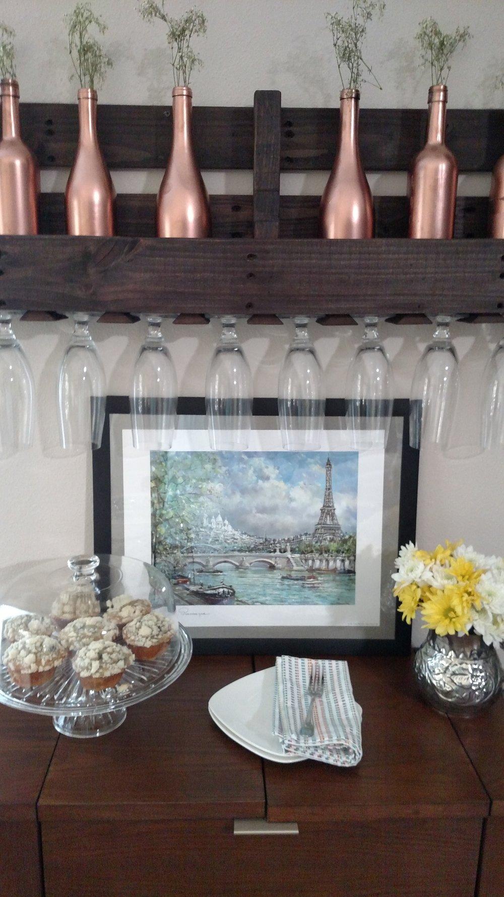 copper wine bottles