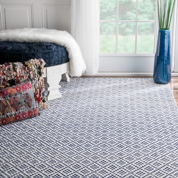 nuLOOM Handmade Flatweave Moroccan Trellis Cotton Rug on Overstock.com