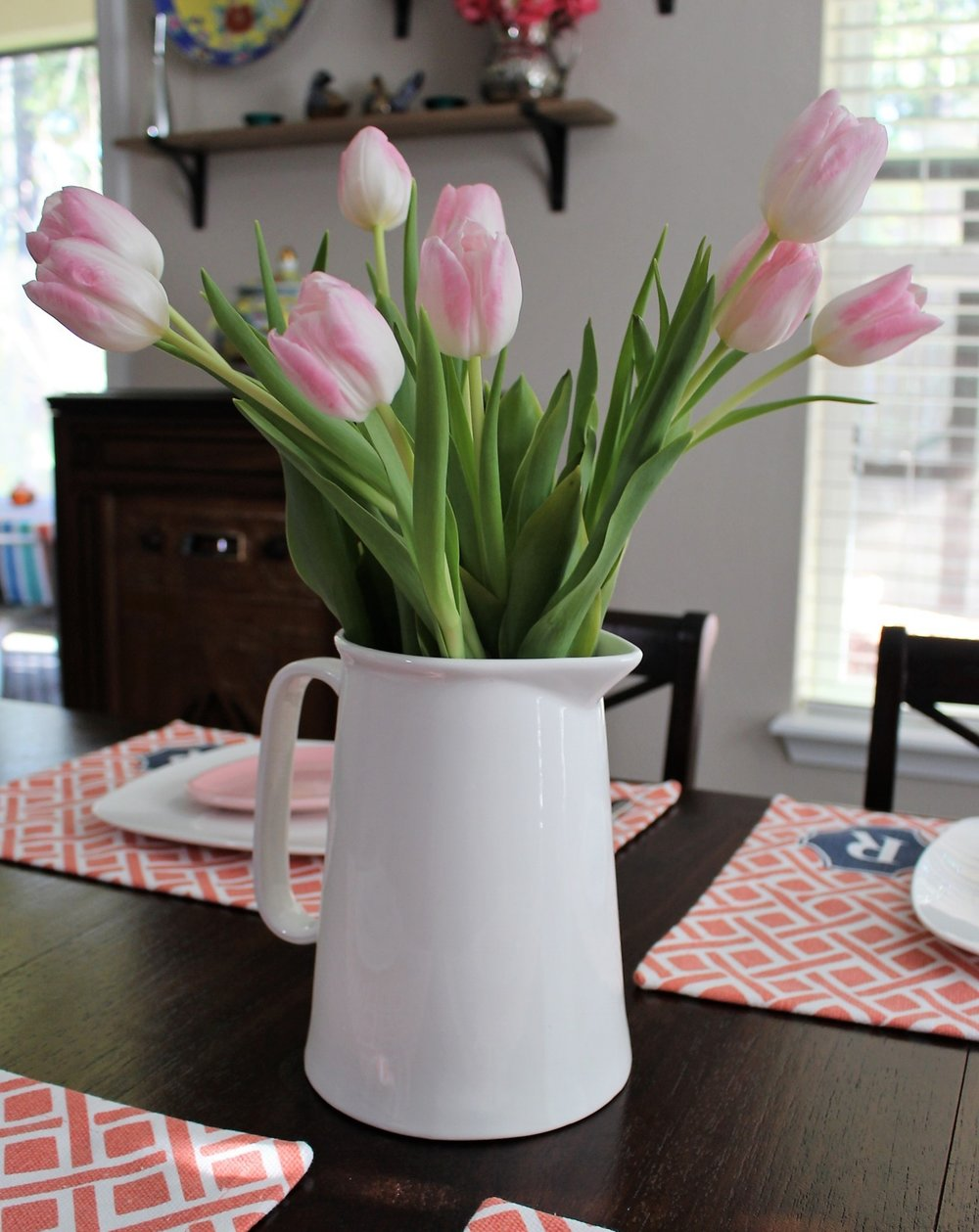 Even more ideas! - Spring Tablescapes  Easter Table DecorValentine's Day Tablescape