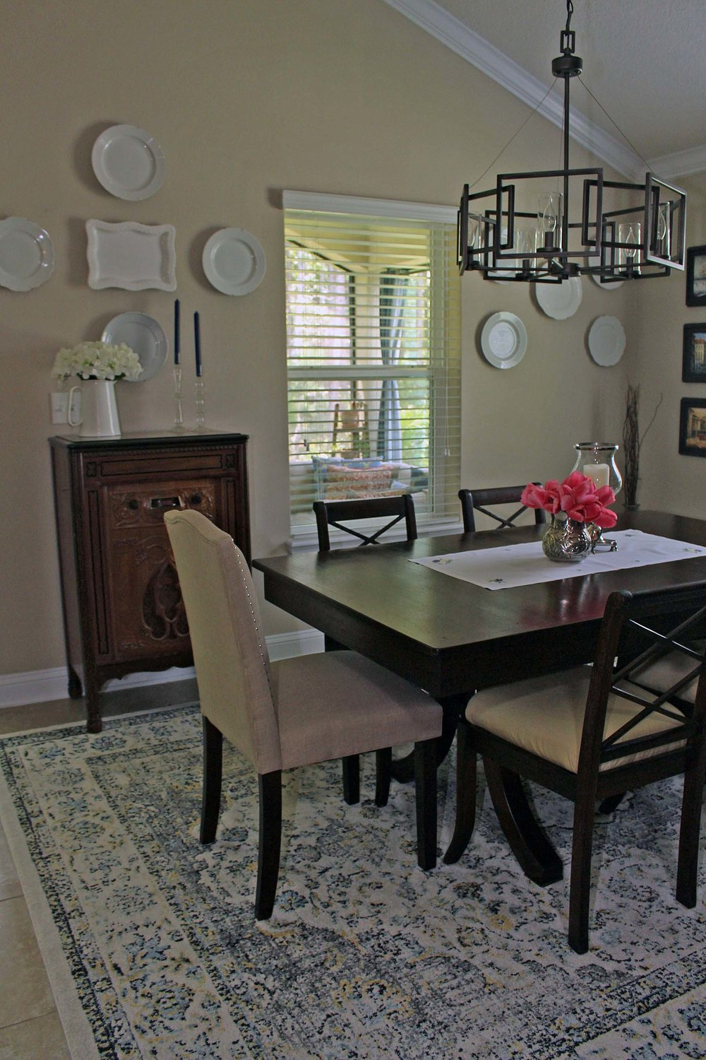 summer dining room updates