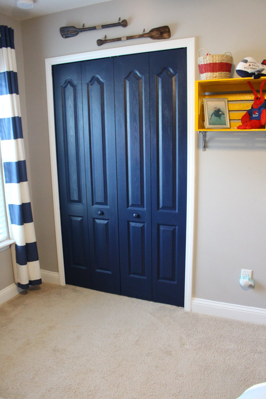 Painting closet doors