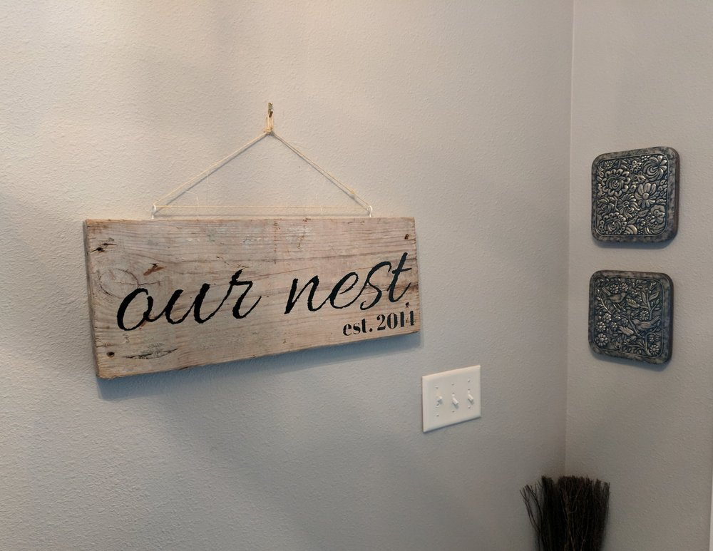 Entryway decorations
