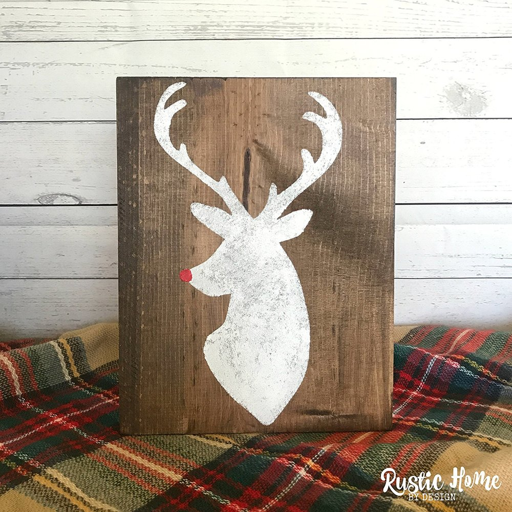 Rudolph Silhouette - $14.99