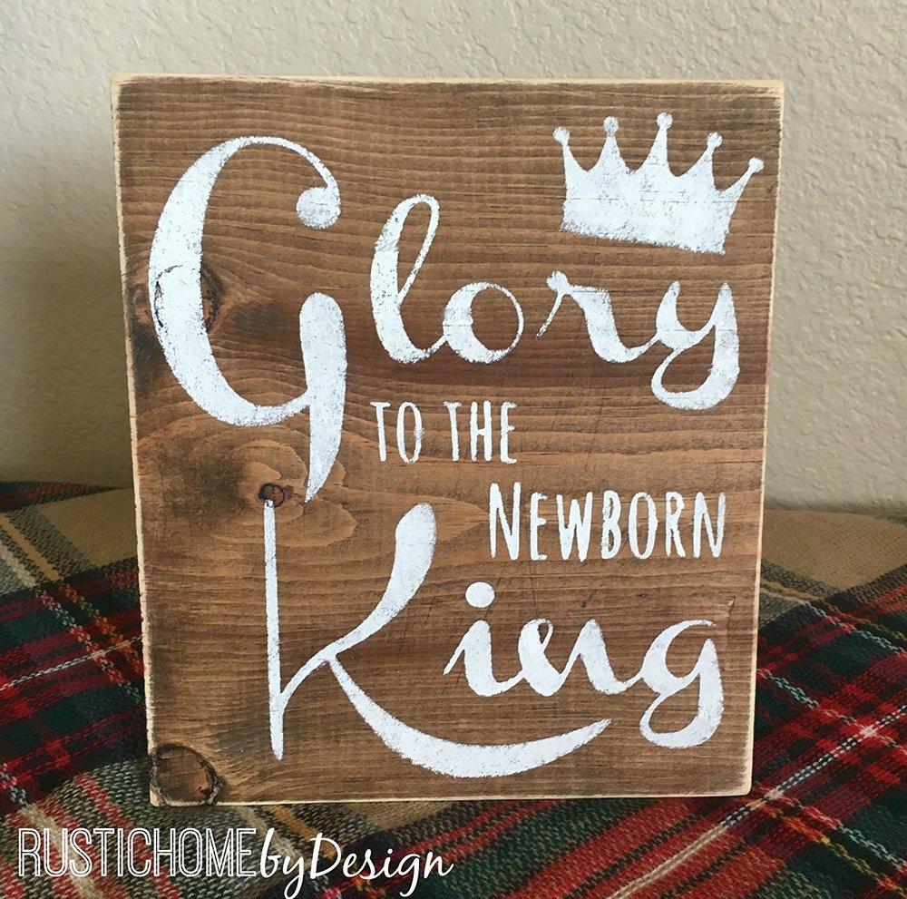 Glory to the Newborn King - $14.99