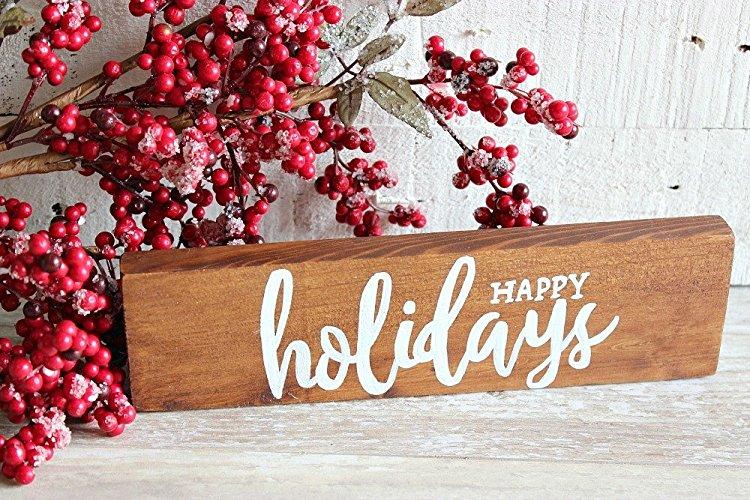 Happy Holidays - $14.00