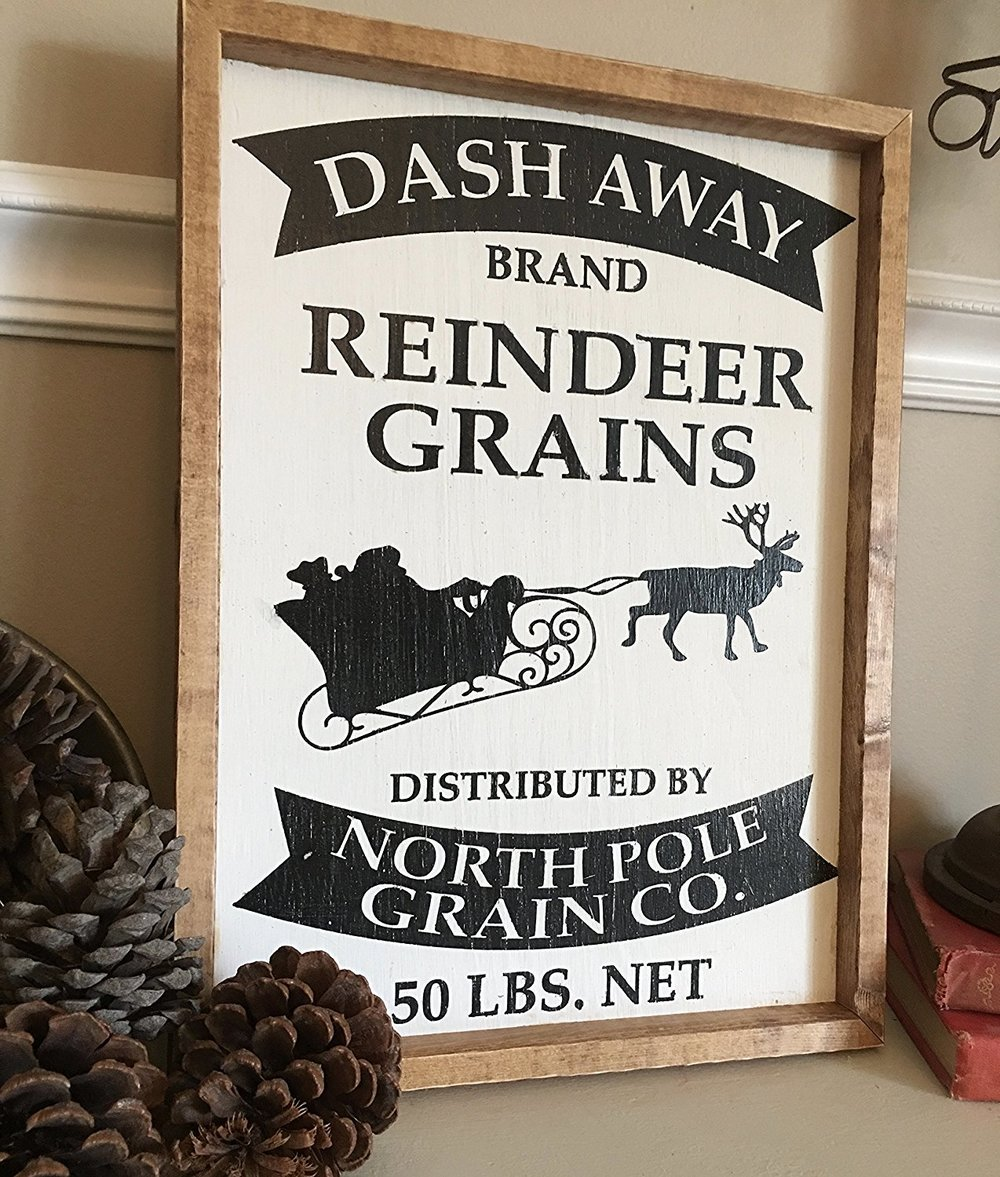 Dash Away Reindeer Grains - $34.95