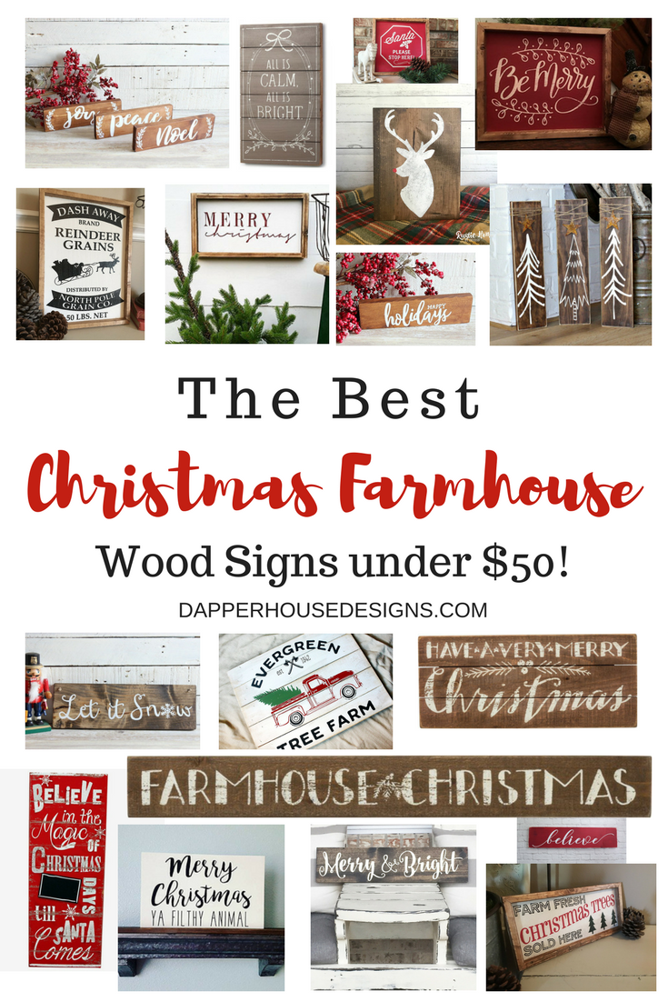 The Best Christmas Farmhouse Wood Signs Under $50!.png