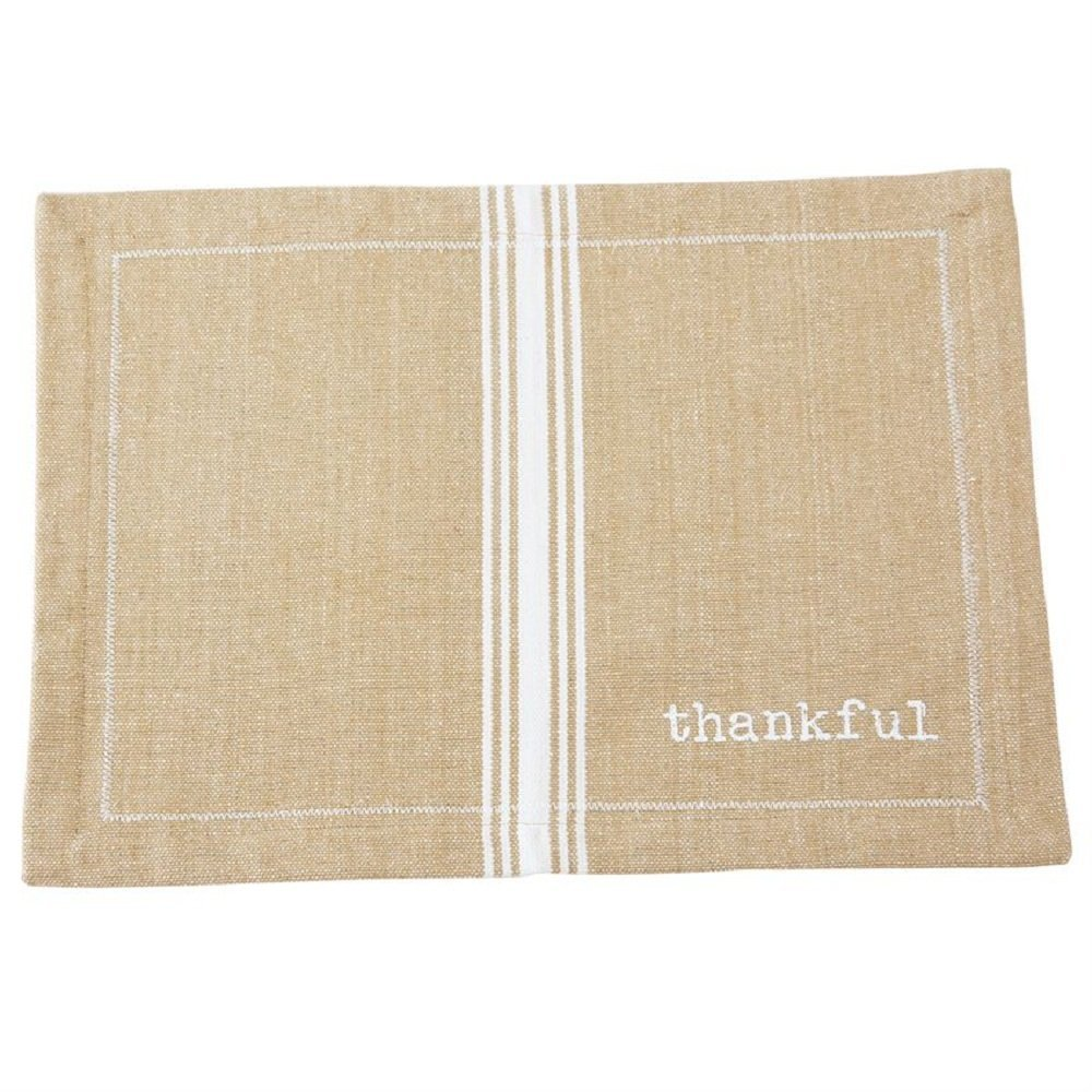 Mudpie Thankful Placemat - $9.50