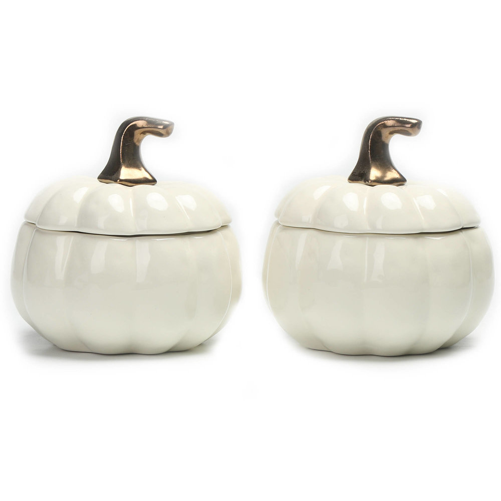 Pumpkin Lidded Soup Bowl - $7.98