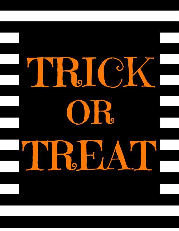 Trick or Treat - Orange