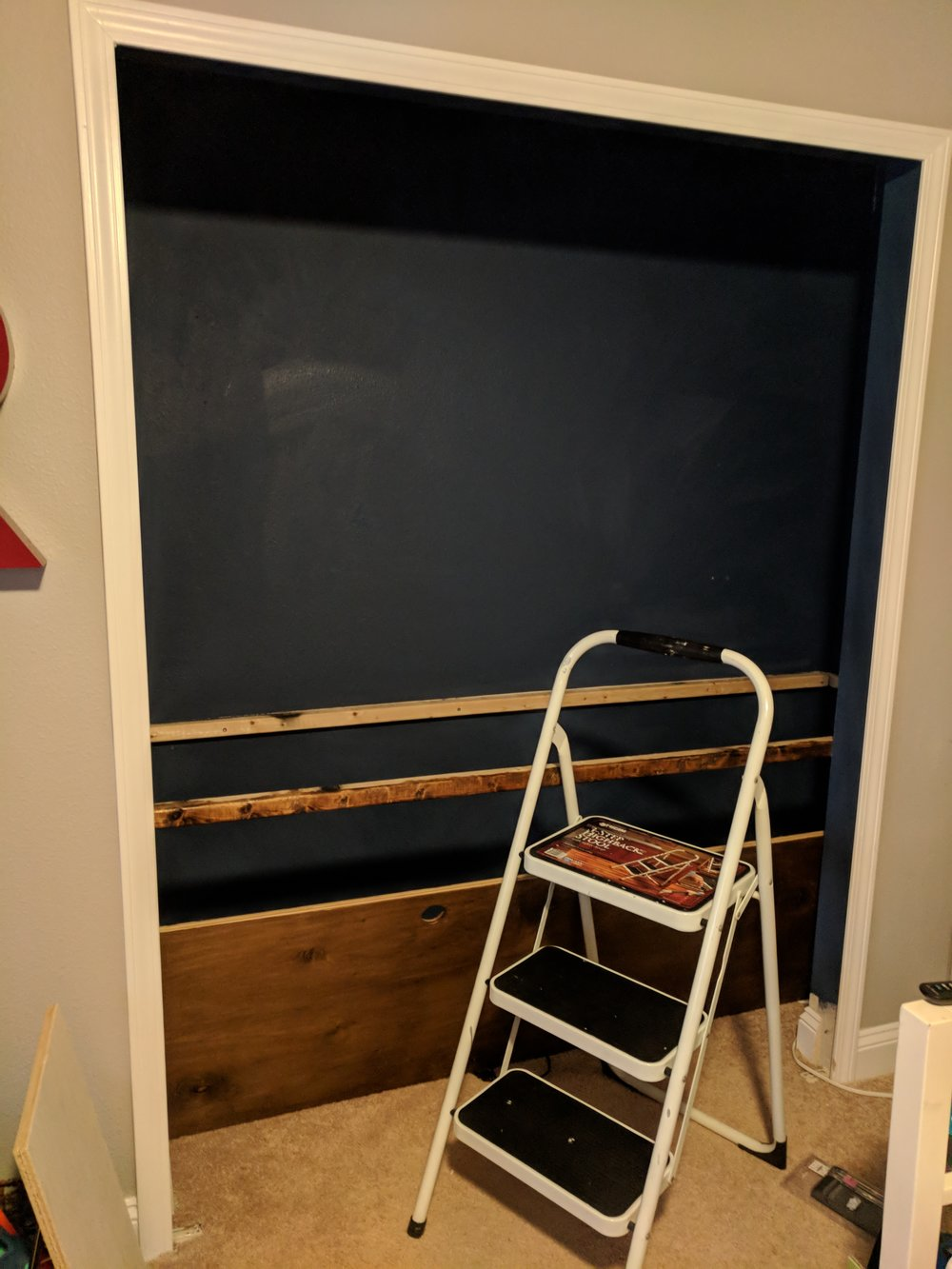 Closet Office DIY