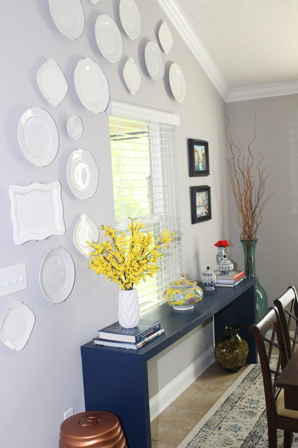 Spring Dining Room Decor - House by the Preserve