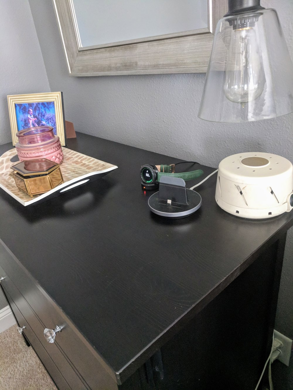 DIY Nightstand Charging Station - House by the Preserve
