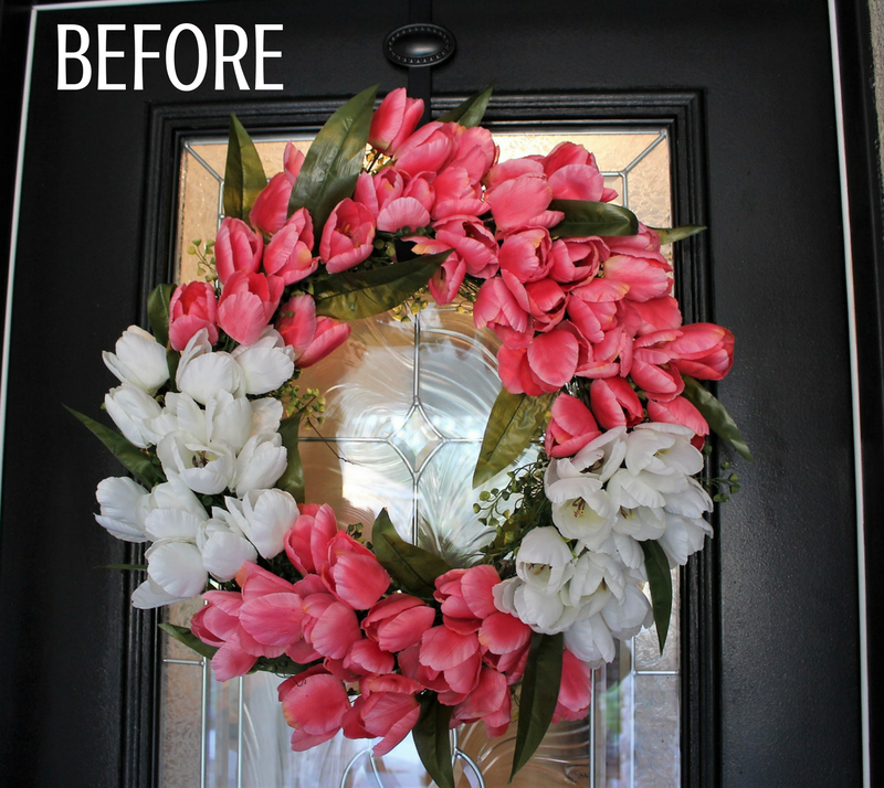 Spring Wreath DIY v1- House by The Preserve