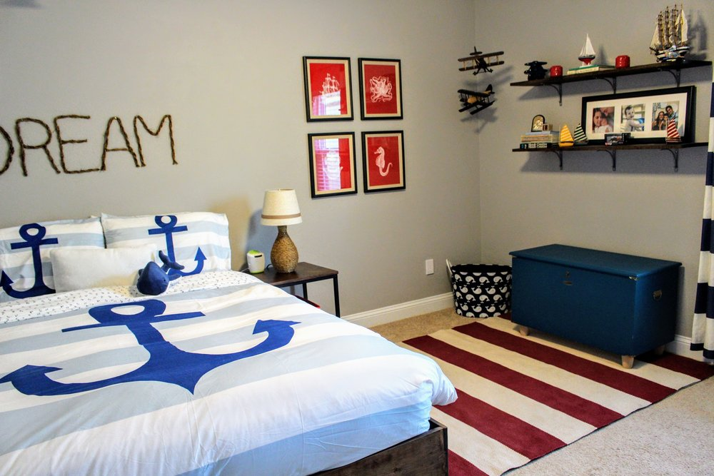 boy room budget makeover