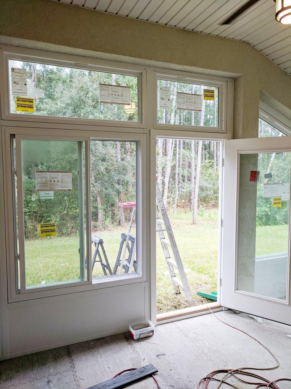 Window installation!