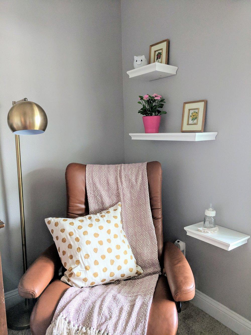 nursery sitting area