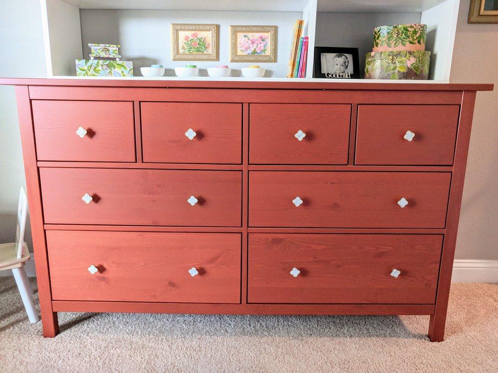 Ikea hemnes nursery dresser