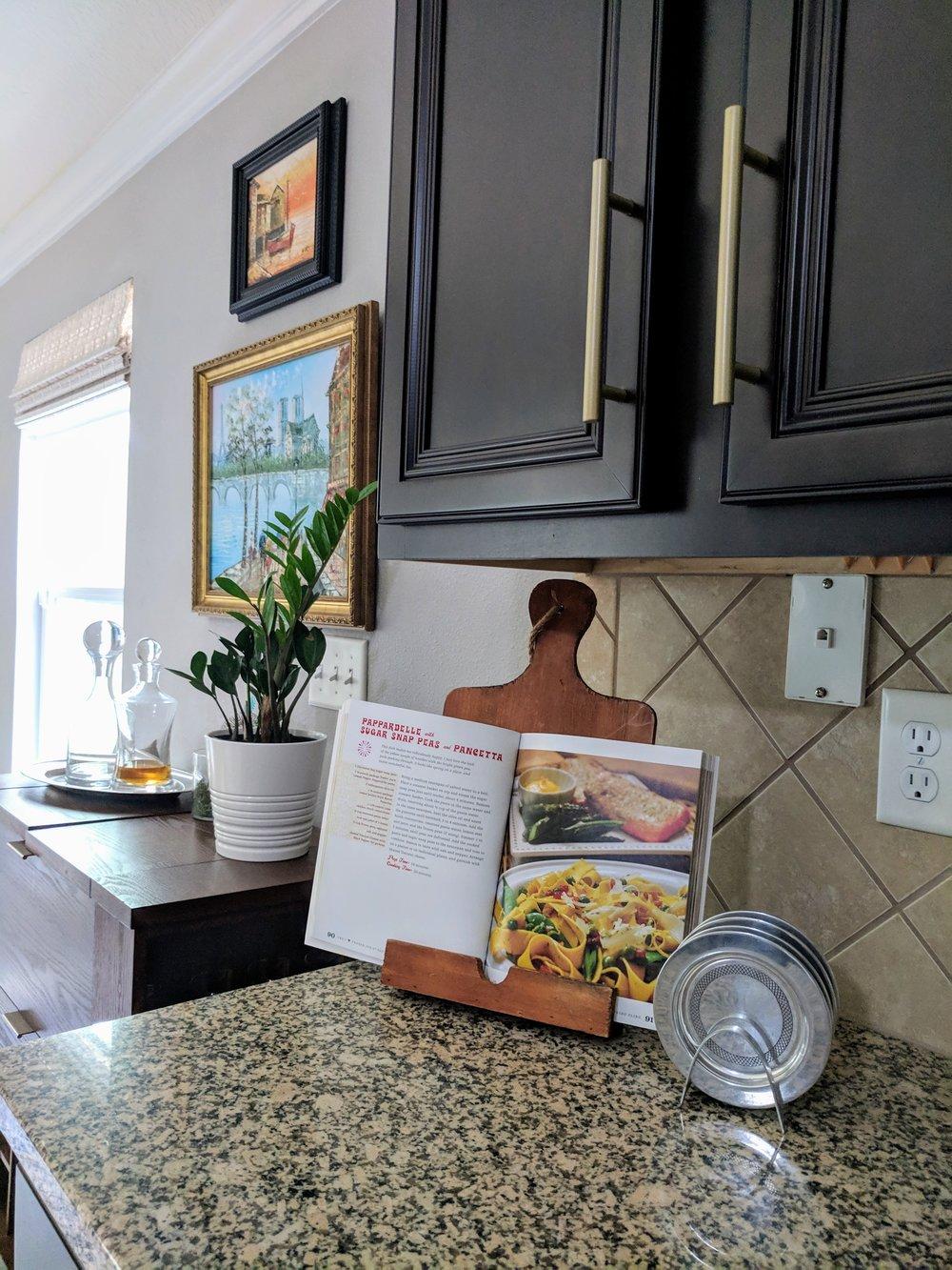 display your favorite recipe